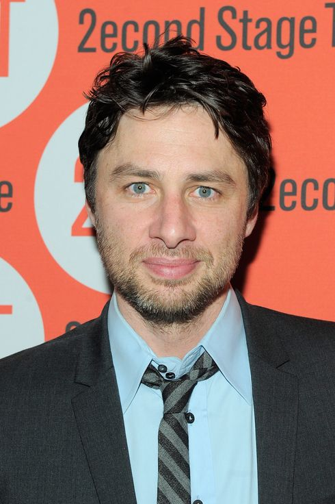 "NEW YORK, NY - JULY 25:  Actor/playwright Zach Braff attends the ""All New People"" opening night after party at HB Burger on July 25, 2011 in New York City.  (Photo by Jemal Countess/Getty Images)"