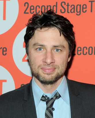 NEW YORK, NY - JULY 25: Actor/playwright Zach Braff attends the