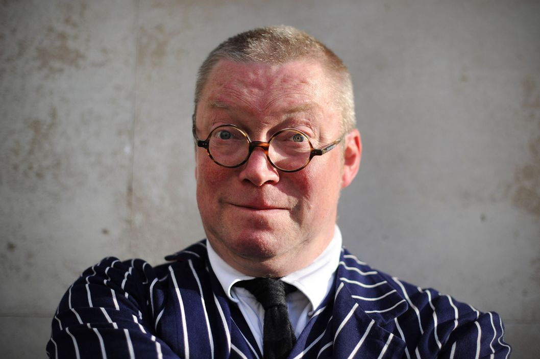 British chef Fergus Henderson attends the 2012 World's 50 Best Restaurants awards at the Guildhall in London on April 30, 2012.