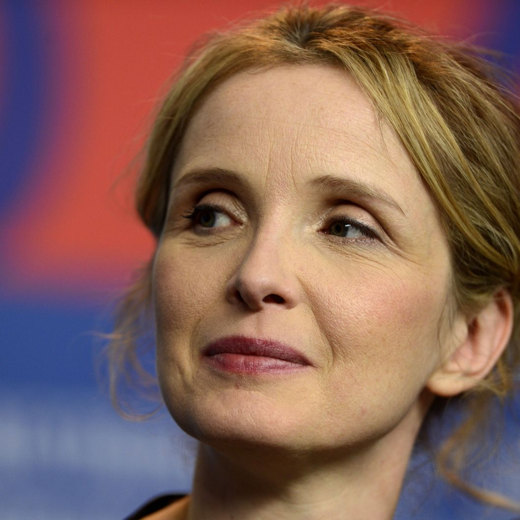 "US French actress Julie Delpy attends a press conference for the film ""Before Midnight"" presented in the Berlinale Competition of the 63rd Berlin International Film Festival in Berlin on February 11, 2013."