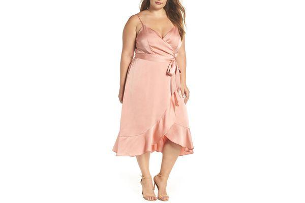 Marilyn Faux Wrap Dress