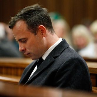 Oscar Pistorius Is Sentenced In The Trial Over The Murder Of Reeva Steenkamp