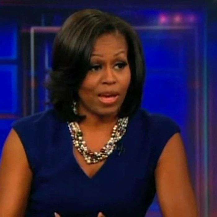 Michelle Obama Talks Vegetable Feasts On Ithe Daily Showi