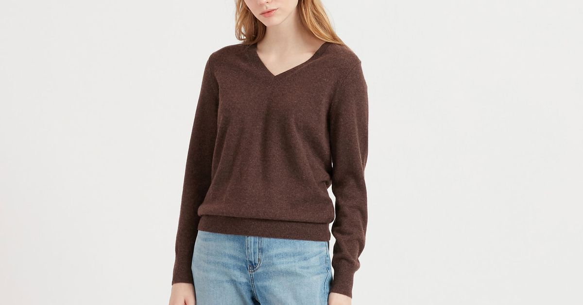 Uniqlo's Already Affordable Cashmere Sweaters Are Even Cheaper Right Now