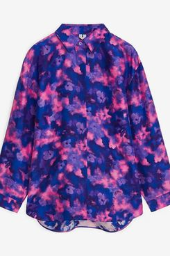 Relaxed Habutai Silk Shirt