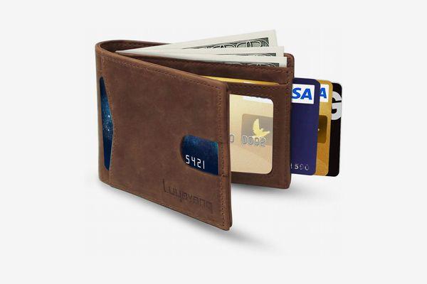 Luyavanq Slim Minimalist Bifold Wallet