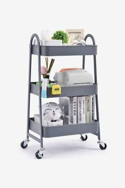 Kingrack 3-Tier Utility Rolling Cart