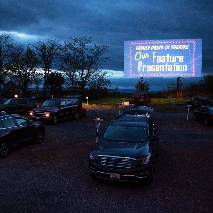 Drive In Movie Theaters Are The New Covid Era Gathering Spot