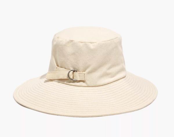 Madewell Cotton-Linen Packable Sunhat