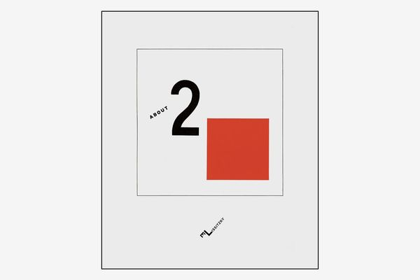 About Two Squares by El Lissitzky