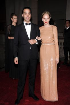 Andres Santo Domingo, Lauren Santo Domingo at THE METROPOLITAN MUSEUM OF ART'S Spring 2010 COSTUME INSTITUTE Benefit Gala 2010