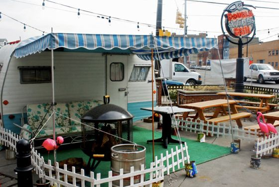 "<a href=""http://www.doublewidegrill.com/"">Double Wide Grill</a><br><i>2339 E. Carson St.; 412-390-1111</i> <br>Though steeped in a trailer park shade of Americana kitsch — it's housed inside an old filling station and six-packs of beer are served table side in a cooler — there's no joking around when it comes to food at Double Wide Grill. The St. Louis–style ribs, brisket, and pulled pork are all winners for barbecue, but if you can't make up your mind when ordering, try the ""Build Your Own TV Dinner"" platters for a sampling of everything. <br>"