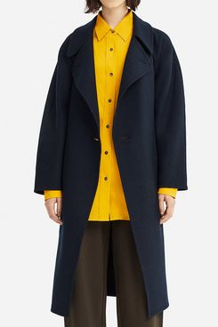 Uniqlo Women's U Double Face Wrap Coat