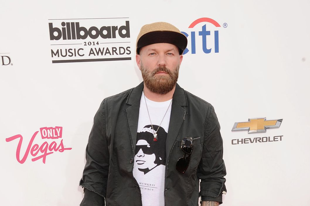 LAS VEGAS, CA- MAY 18: Musician/film director Fred Durst arrives at the 2014 Billboard Music Awards at the MGM Grand Garden Arena on May 18, 2014 in Las Vegas, Nevada.(Photo by Jeffrey Mayer/WireImage)