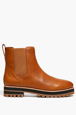 Madewell The Ivy Chelsea Boot in Leather