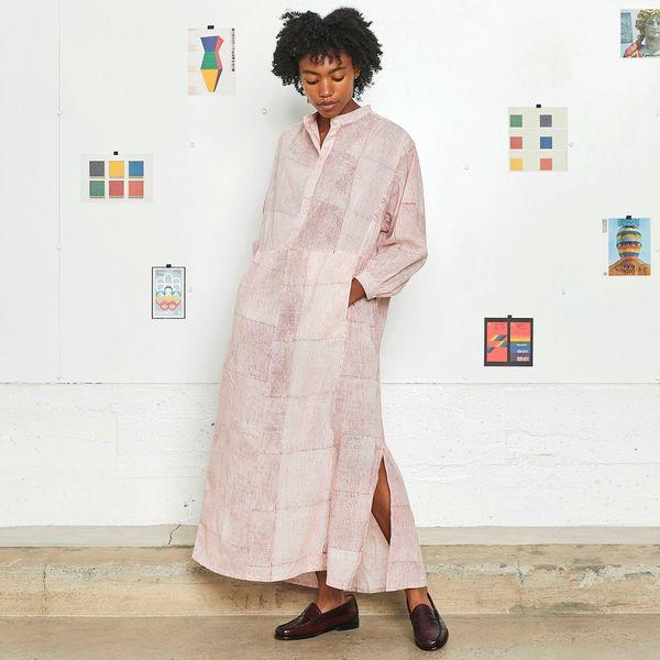Entireworld Block Print Dress