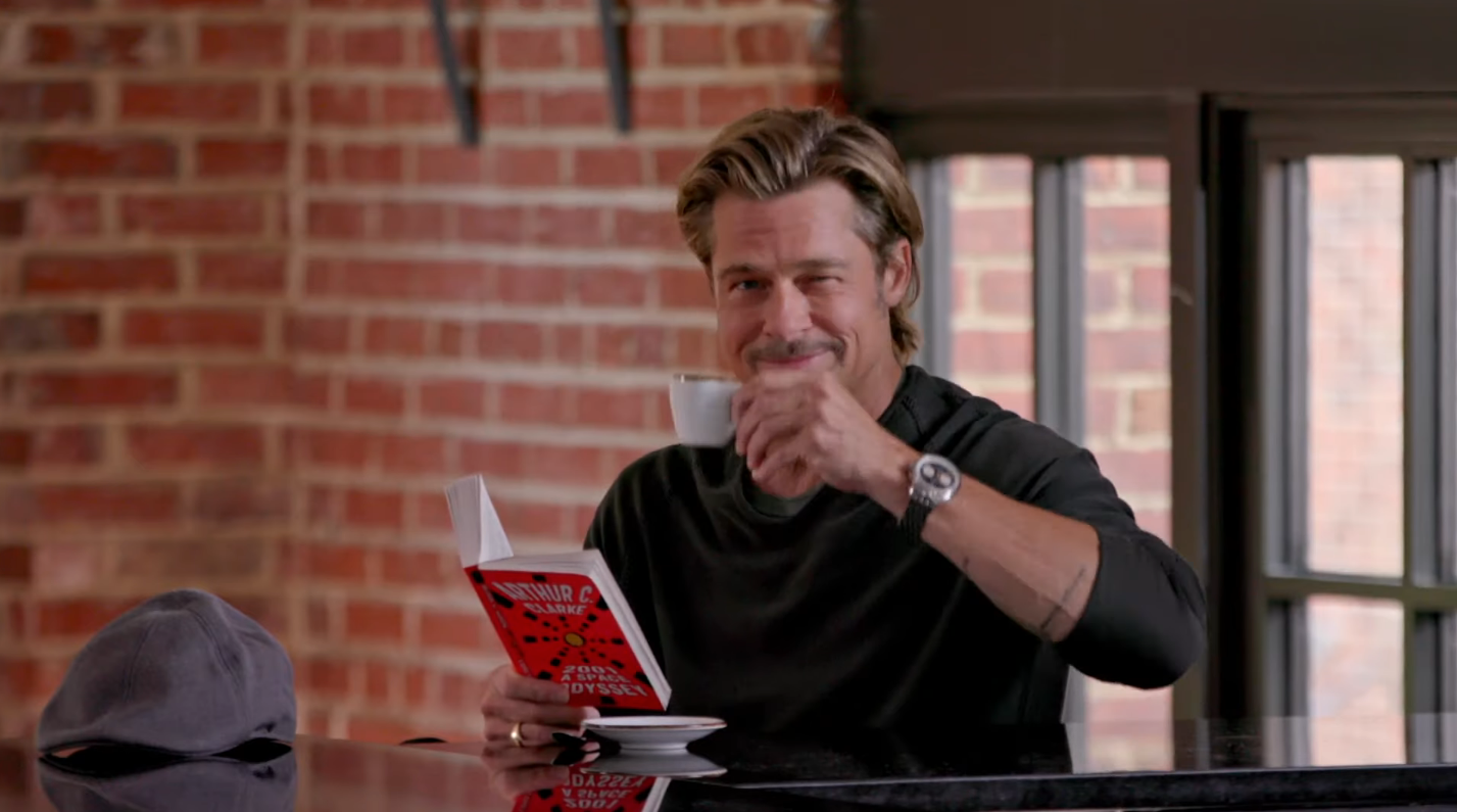 Brad Pitt and Jimmy Fallon Did a Cute Little Sketch for You