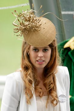 HRH Princess Beatrice of York attends day 5 of Royal Ascot at Ascot Racecourse on June 19, 2010 in Ascot, England.