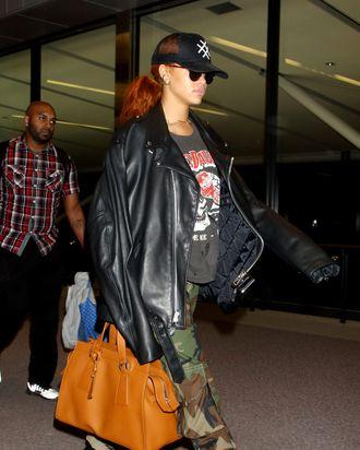 Rihanna wearing her Fenty x Puma creepers. Photo  Okauchi REX Shutterstock 4bd99de81