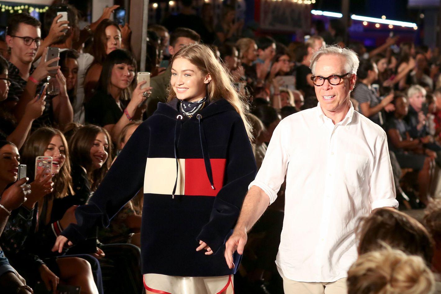 c674f306 Inside Tommy Hilfiger's Tommy x Gigi Fashion Week Show