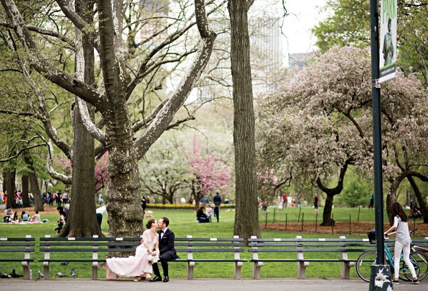 Nymag Real Weddings: - Wedding Album: Haley Lieberman And Michael Friedman's
