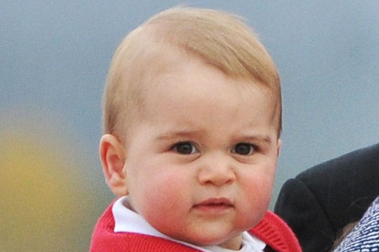 This is why Prince George ALWAYS wear shorts   Royal