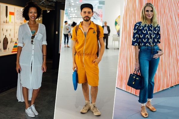 See Colorful Street Style From Art Basel Miami