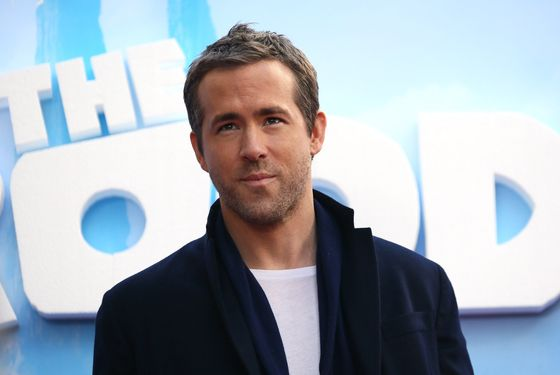 "NEW YORK, NY - MARCH 10:  Actor Ryan Reynolds attends ""The Croods"" premiere at AMC Loews Lincoln Square 13 theater on March 10, 2013 in New York City.  (Photo by Neilson Barnard/Getty Images)"