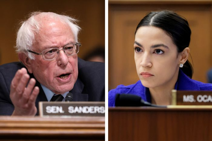 Sanders And Ocasio-Cortez Call For Capping Credit Card Rate