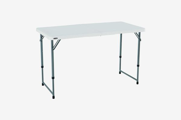 Lifetime Height Adjustable Folding Table