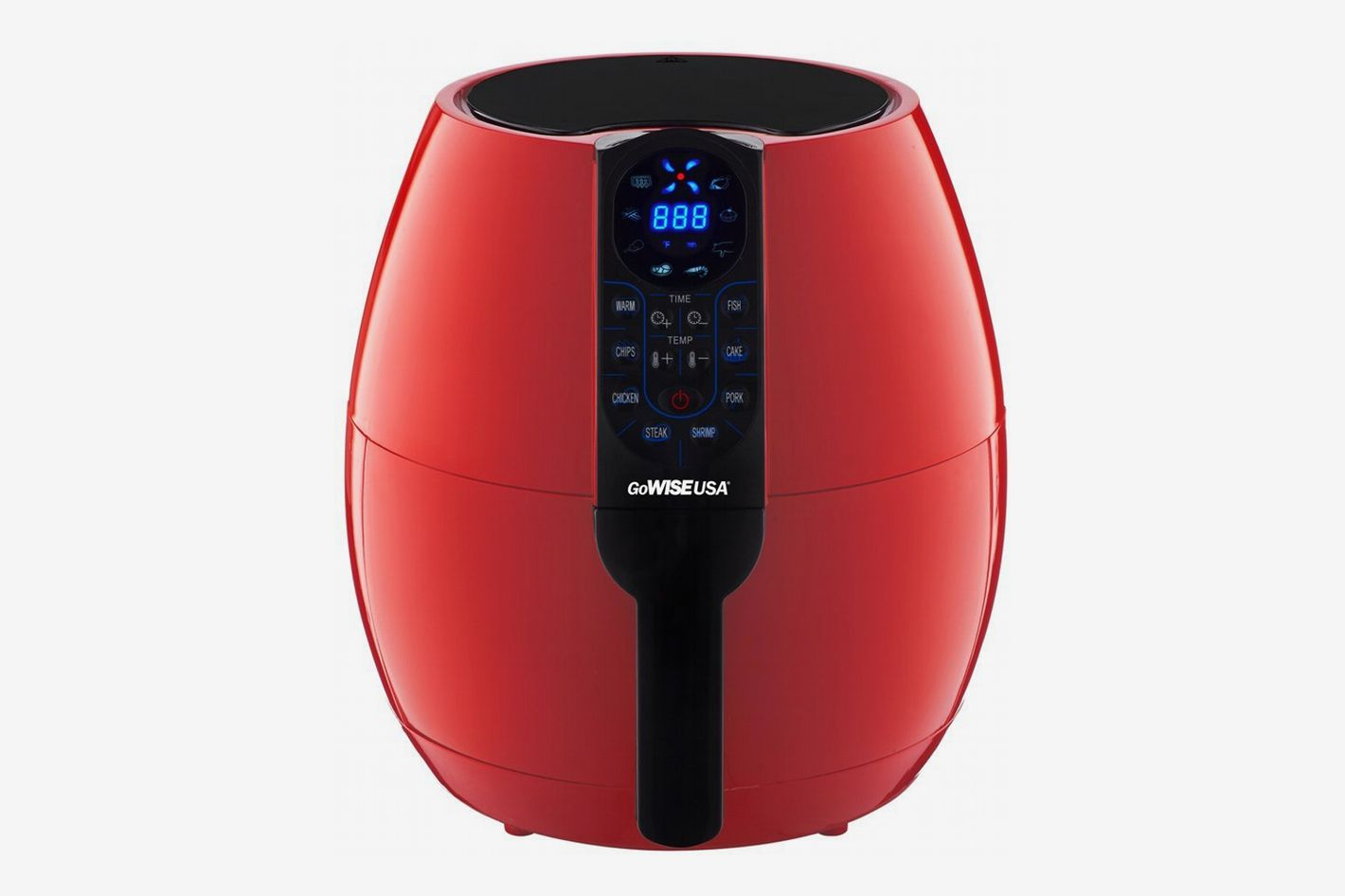 GoWISE USA Programmable Air Fryer with 8 Cook Presets, GW22639 (3.7 QT)