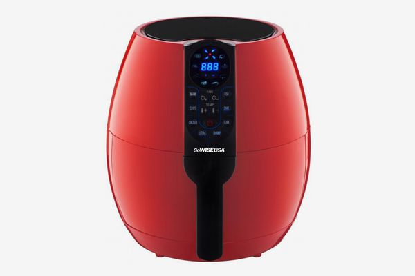 GoWISE USA Programmable Air Fryer with 8 Cook Presets