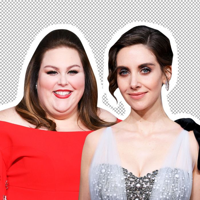 Chrissy Metz and Alison Brie.