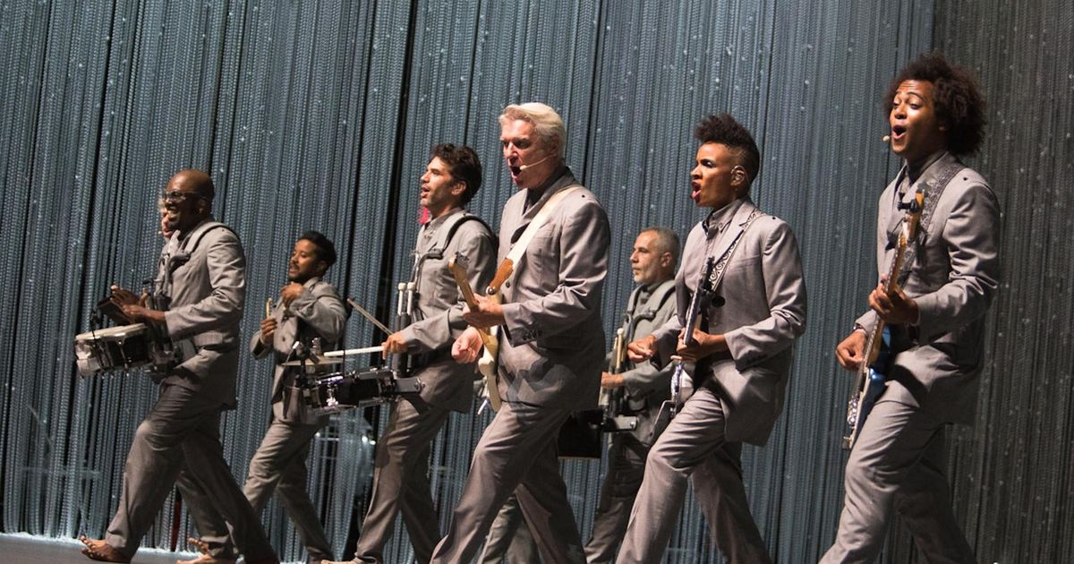 And You May Find Yourself Seeing David Byrne on Broadway!