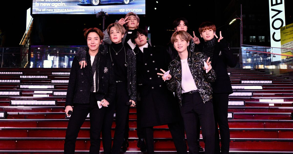 BTS Turns Times Square Into BTS Concert on New Year's Eve