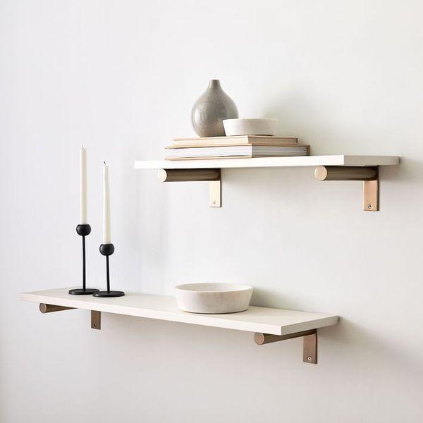 West Elm Linear Lacquer Shelves