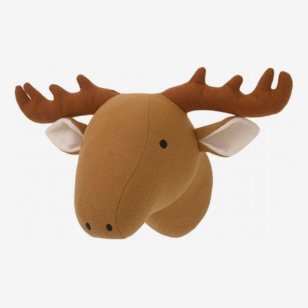 Little Love by NoJo Plush Moose Head Wall Decor