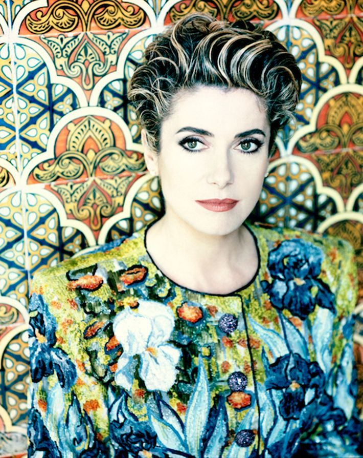 """Résultat de recherche d'images pour """"musee yves saint laurent marrakech catherine deneuve"""""""