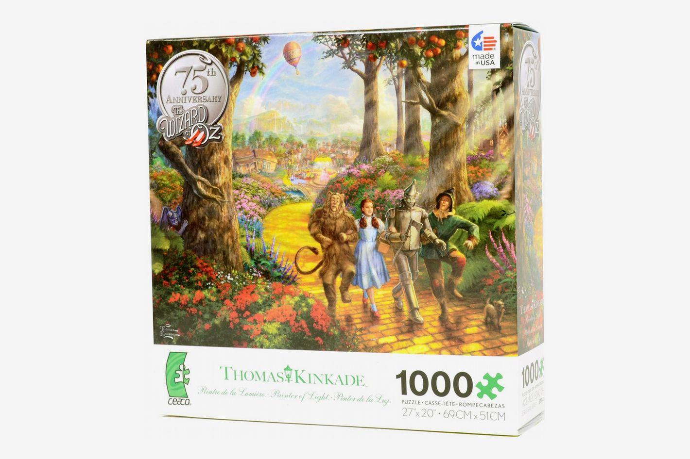 "Thomas Kinkade ""Follow The Yellow Brick Road"" 1000-Piece Puzzle"