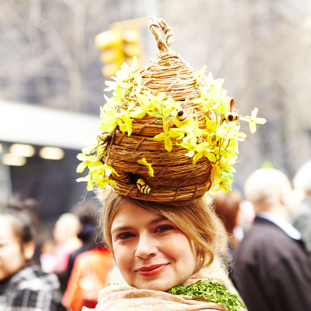 Crazy Beanies: Festive, Crazy Hats At New York's Easter Parade