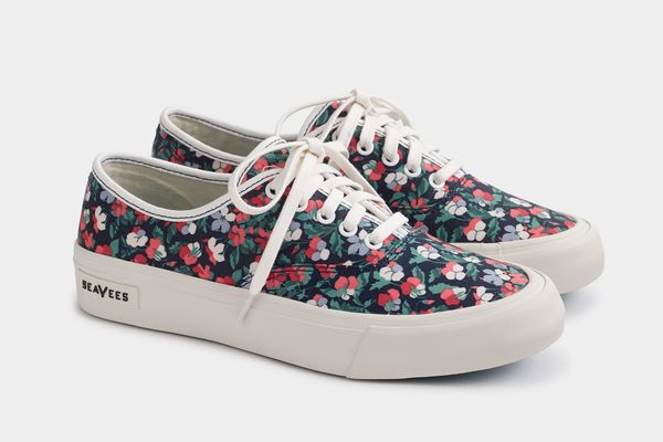 SeaVees® for J.Crew Legend sneakers in Liberty poppy floral