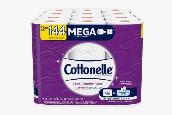Cottonelle Ultra ComfortCare Toilet Paper Mega Rolls - 36-pack