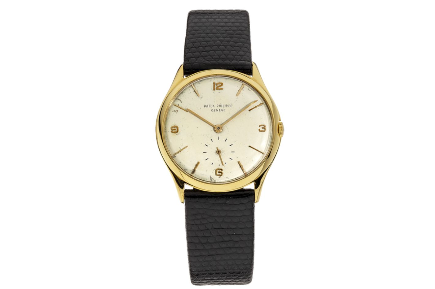 Pre-owned Patek Philippe Calatrava Circa 1960s Yellow Gold Manual
