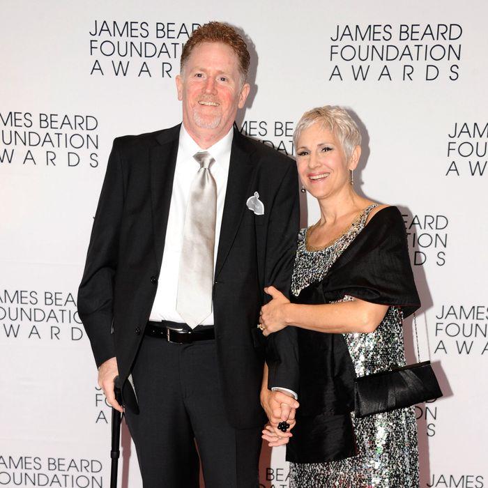 Hayden at last month's James Beard Awards.