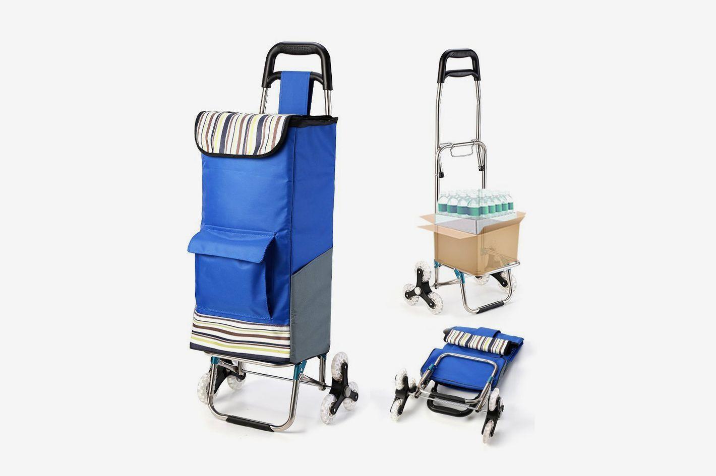Royi Stair Climbing Laundry Utility Cart