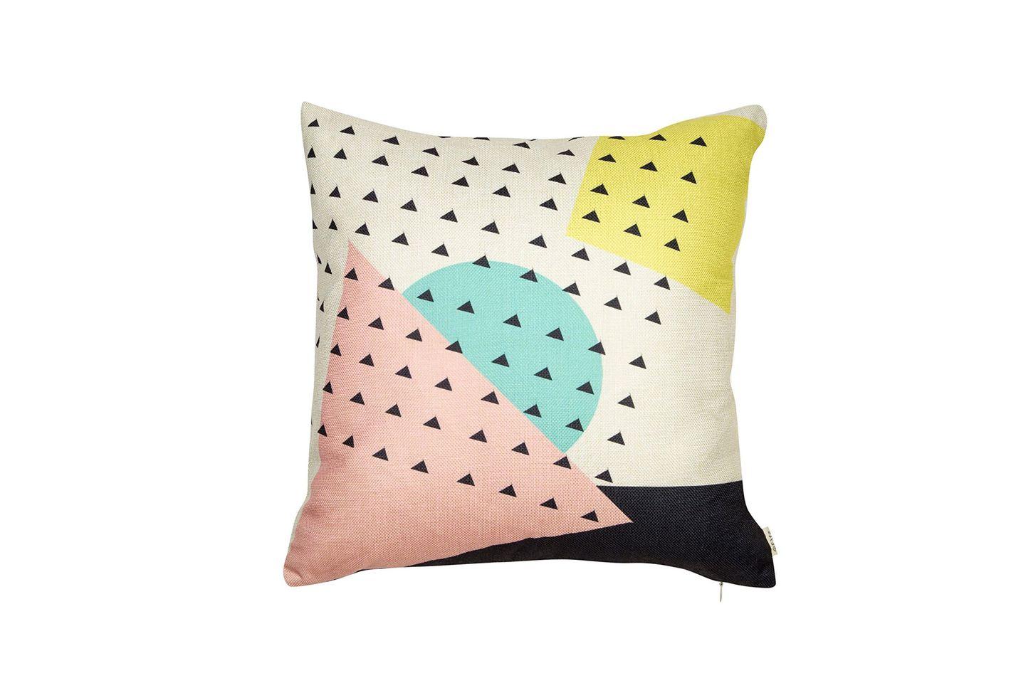 Fjfz Cotton Linen Home Decorative Throw Pillow Case Cushion Cover