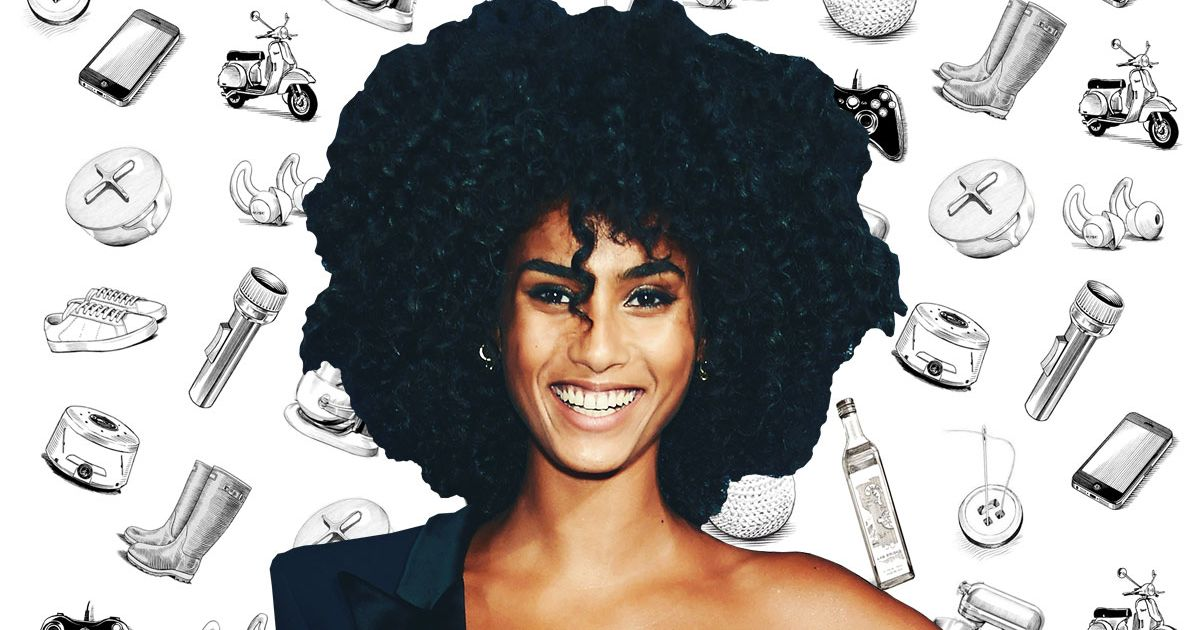 What Model Imaan Hammam Can't Live Without