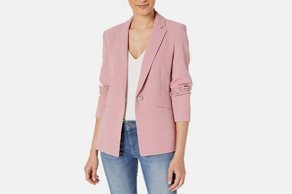 Tahari ASL Women's One Button Blazer