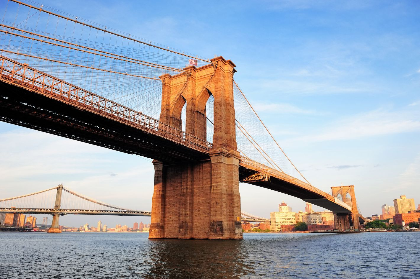 Tourists just cant stop climbing the brooklyn bridge malvernweather Gallery
