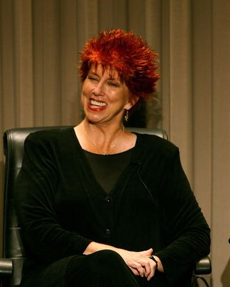 LOS ANGELES, CA - SEPTEMBER 05: Actress Marcia Wallace speaks at the Paley Center for Media and TV Land salute of